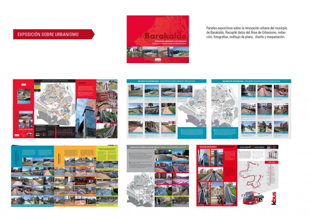 Exposición sobre urbanismo