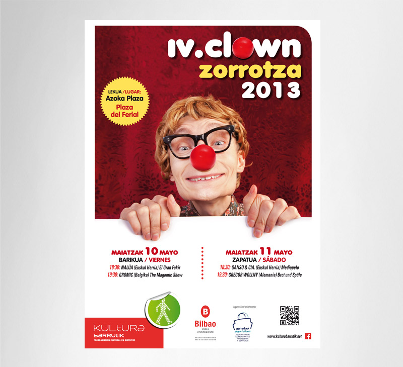 Bilbao – clown