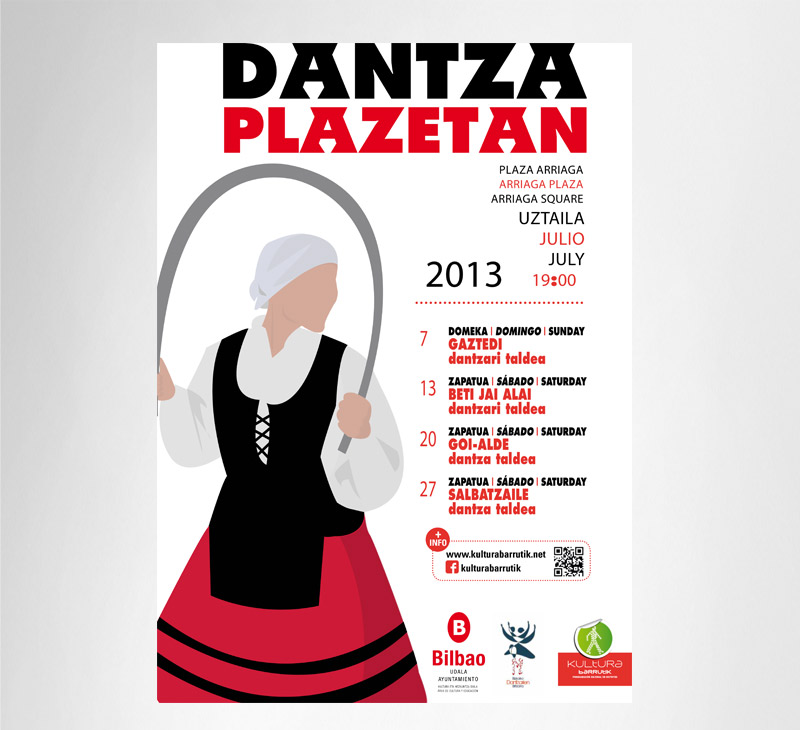 Bilbao – dantza plazetan